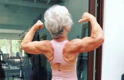 'Lột xác' nhờ tập thể hình, cụ bà 73 tuổi chứng minh khả năng của con người là vô hạn