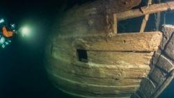 Phát hiện con 'tàu ma' 400 năm tuổi còn nguyên vẹn ngoài khơi Phần Lan