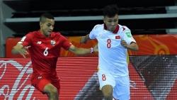 Minh Trí đi vào lịch sử futsal Việt Nam tại đấu trường futsal World Cup