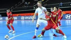 FIFA, AFC hết lời ca ngợi đội tuyển futsal Việt Nam trong trận hòa với tuyển Czech