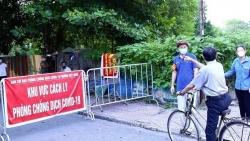 Trưa 23/9, Hà Nội thêm 5 ca mắc Covid-19 đều thuộc chùm F1 ở quận Long Biên và Thanh Xuân