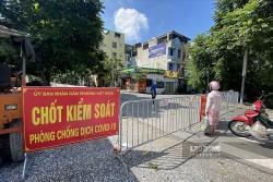 Trưa 24/9, Hà Nội thêm 4 ca mắc Covid-19 mới tại quận Long Biên, Thanh Xuân và Hai Bà Trưng