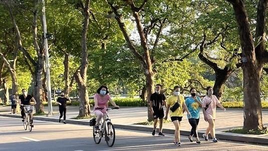 Hà Nội: Từ 28/9, mở lại hoạt động thể dục thể thao ngoài trời, trung tâm thương mại