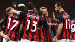 Zlatan Ibrahimovic tỏa sáng nhưng AC Milan vẫn ngậm ngùi chấm dứt mạch trận toàn thắng