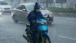 Dự báo thời tiết đêm nay và ngày mai (7-8/10): Trung Trung Bộ, Bắc Tây Nguyên mưa to đến rất to và dông; nguy cơ cao có lũ quét và sạt lở đất