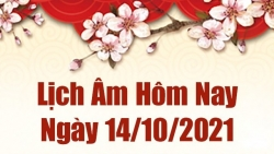 Lịch âm 14/10, Xem âm lịch hôm nay thứ 5 ngày 14/10/2021 chính xác nhất. Lịch vạn niên