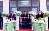 Bàn giao Trường Trung học Dakcheung, quà tặng của Nhà nước Việt Nam cho nhân dân Lào