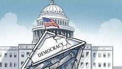 Dân chủ Mỹ qua sự kiện ngày 6.1: Xảy chuyện nên lộ diện