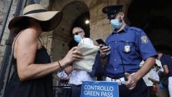 Italy sẽ bắt buộc sử dụng thẻ xanh Covid-19