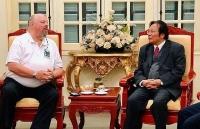 Đoàn cựu chiến binh Mỹ VVA thăm và làm việc tại Việt Nam