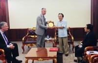 Đoàn VFW thăm và làm việc Việt Nam