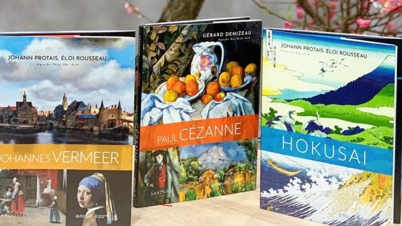 Ba cuốn sách mới và thú vị về các danh họa nổi tiếng thế giới