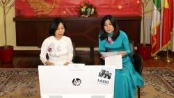 Đại sứ quán Việt Nam tại Italy gặp mặt các gia đình con nuôi Việt Nam