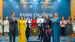 Sở giao dịch chứng khoán cùng 'Rung chuông vì Bình đẳng giới'