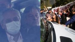 Xe chở Tổng thống Argentina bị người biểu tình tấn công