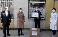 Công ty của người Việt trao tặng Cơ quan Y tế công cộng quốc gia Moldova 600 bộ xét nghiệm chẩn đoán Covid-19
