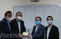 Doanh nghiệp Việt Nam góp sức cùng Campuchia phòng chống dịch Covid-19