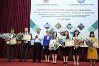 Tỉnh Quảng Nam thu hút viện trợphi chính phủ nước ngoài