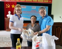Tiếp sức cho các nạn nhân bom mìn chống lại đại dịch Covid-19