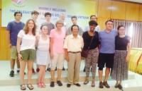 Kỳ nghỉ trải nghiệm của học sinh Mỹ tại Việt Nam