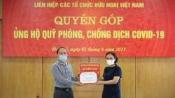 VUFO phát động quyên góp ủng hộ Quỹ phòng, chống dịch Covid-19