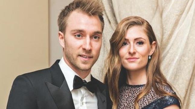 Tiền vệ Christian Eriksen và mối tình bền bỉ với cô nàng làm nghề cắt tóc