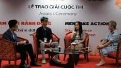 Trao giải cuộc thi sáng tác truyền thông Nam giới hành động - Chấm dứt bạo lực đối với phụ nữ