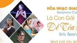 Hòa nhạc giao hưởng 'Là con gái để tỏa sáng' được tổ chức online