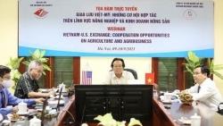 Giao lưu Việt-Mỹ: Những cơ hội hợp tác trên lĩnh vực nông nghiệp và kinh doanh nông sản