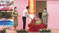 Khởi đầu năm học 2021-2022 tại Trường song ngữ Lào-Việt Nam Nguyễn Du
