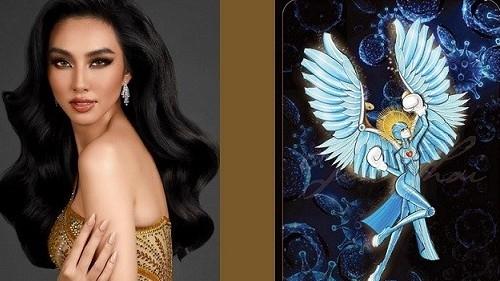 Miss Grand International 2021: Đại diện Việt Nam chọn quốc phục mang tên 'Thiên thần'