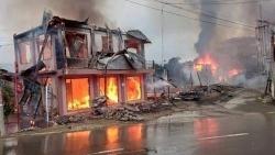 Myanmar: Đoàn xe quân sự bị đánh bom khiến một số người thiệt mạng