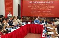 Hơn 100 chuyên gia, nhà nghiên cứu tham dự Hội thảo quốc tế về nghệ thuật Xòe Thái