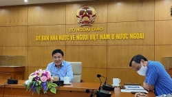 Thứ trưởng Phạm Quang Hiệu đối thoại với thanh niên Ủy ban Nhà nước về người Việt Nam ở nước ngoài