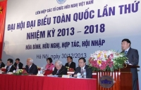 700 đại biểu, khách mời sẽ tham dự Đại hội toàn quốc lần thứ VI - Liên hiệp các tổ chức hữu nghị Việt Nam