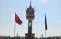 Khánh thành Đài Hữu nghị Việt Nam-Campuchia tại Tây Bắc Campuchia
