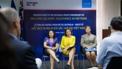 Australia và UNICEF hợp tác hỗ trợ phân phối vaccine phòng Covid-19 tại Việt Nam