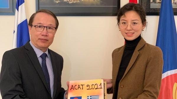 Việt Nam chuyển giao chức Chủ tịch Nhóm các Đại sứ quán ASEAN tại Athens cho Indonesia