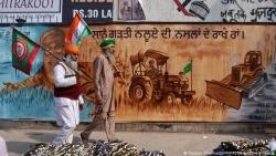 Giữa 'cơn bão' Covid-19, nông dân Ấn Độ tiếp tục biểu tình phản đối luật nông nghiệp