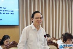 Đoàn các Trưởng Cơ quan đại diện Việt Nam làm việc với Bộ Giáo dục và Đào tạo