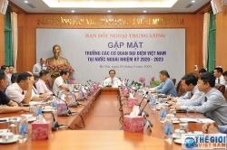 Ban Đối ngoại Trung ương kỳ vọng các Trưởng Cơ quan đại diện Việt Nam tiếp tục triển khai công tác đối ngoại của Đảng