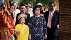 Siêu mẫu nhí Hoàng Vân khoe tài tại chương trình Tết Ba miền - chào Xuân Tân Sửu