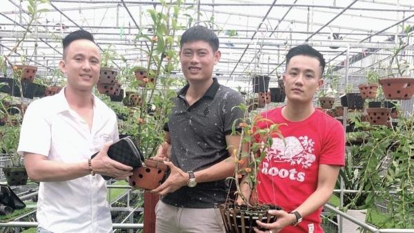 Ông chủ vườn lan 8X Tịnh Thắng chia sẻ về bí quyết thành công