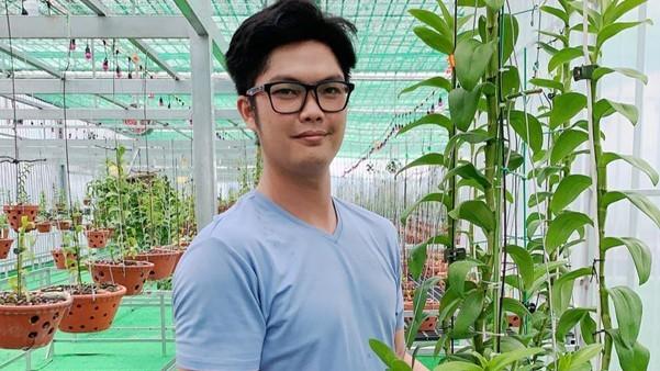 Nghệ nhân Nguyễn Duy Tân: Trồng hoa lan là cách rèn luyện tính kiên nhẫn