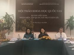 Dấu ấn văn hoá qua trang phục áo dài Việt