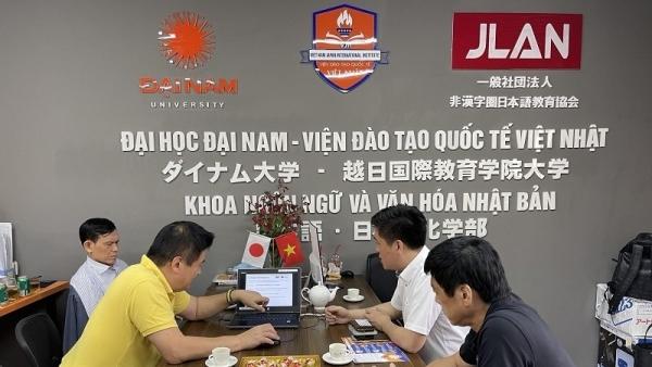 Khoa Ngôn ngữ & Văn hoá Nhật Bản - Đại học Đại Nam: Tăng cường hợp tác, nâng cao chất lượng đào tạo
