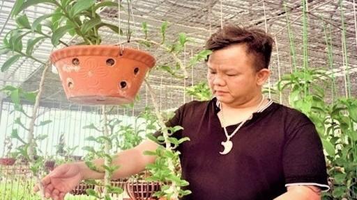 Nghệ nhân Nguyễn Đăng Ghin: Thị trường hoa lan sớm sôi động trở lại