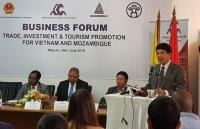 Việt Nam – Mozambique: Xúc tiến hợp tác đầu tư, thương mại và du lịch