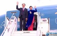 Chủ tịch nước Trần Đại Quang bắt đầu chuyến thăm Ethiopia và Ai Cập