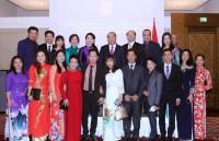 Thủ tướng Nguyễn Xuân Phúc gặp mặt cộng đồng người Việt tại Áo